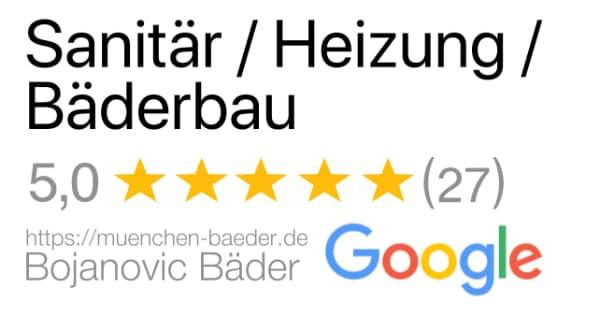 Badsanierung München Bewertung